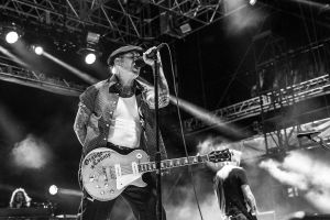 Social Distortion at Pier 17 in NYC